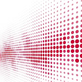 Fundo de meio-tom vermelho moderno
