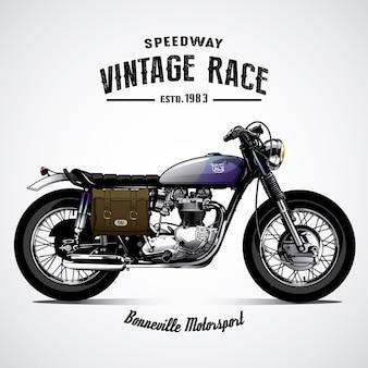 Fundo de moto vintage