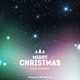 Fundo de Natal com estrelas