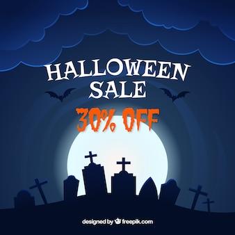 Fundo de venda de Halloween