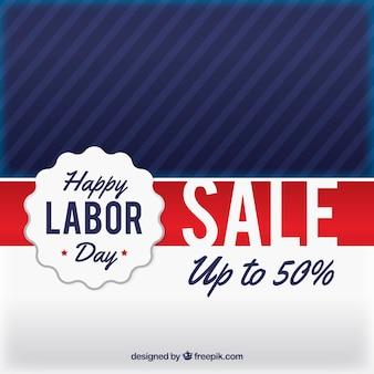 Fundo de venda do dia do trabalho dos EUA