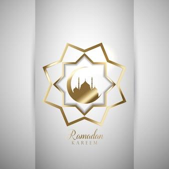 Fundo decorativo para Ramadan