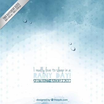 Fundo dia chuvoso