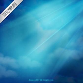 Fundo do céu azul