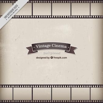 Fundo do cinema do estilo do vintage