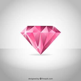Fundo do diamante rosa
