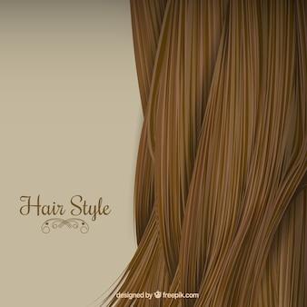 Fundo do estilo de cabelo