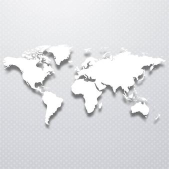 Fundo do mapa de mundo