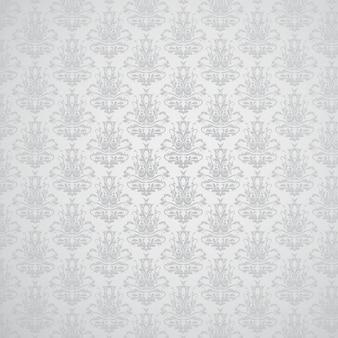 Fundo elegante com um padrão de estilo do damasco