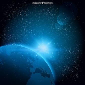 Fundo estrelado do espaço