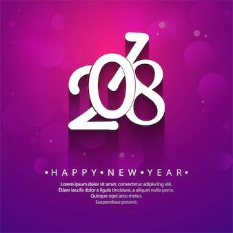 Fundo Feliz Ano Novo 2018