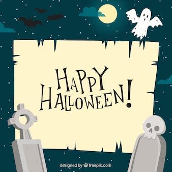 Fundo feliz de Halloween