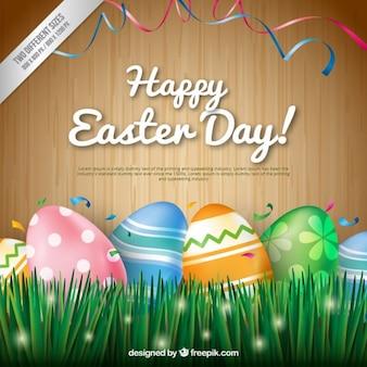 Fundo feliz do dia de Páscoa