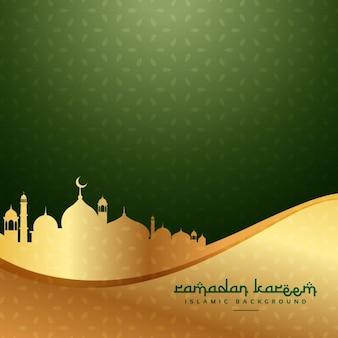 Fundo festival muçulmano de Ramadan