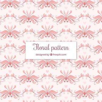 Fundo floral padrão elegante