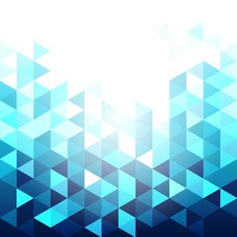 Fundo geométrico azul