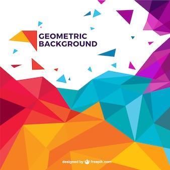 Fundo geométrico colorido