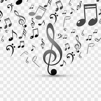 Fundo música moderna