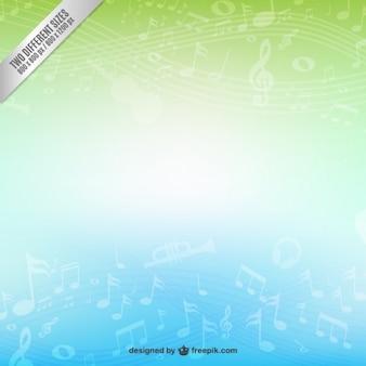 Fundo musical abstrato