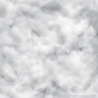 fundo nebuloso com formas poligonais