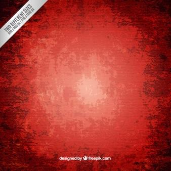 Fundo pintado mão parede vermelha