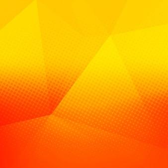 Fundo poligonal brilhante