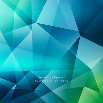 Fundo poligonal colorido abstrato