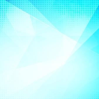 Fundo poligonal de cor azul moderno