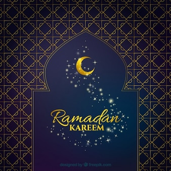 fundo Ramadã elegante