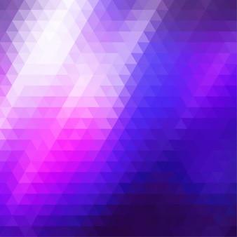 fundo roxo poligonal