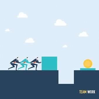 fundo teamwork Colorido