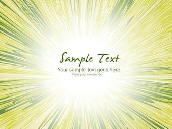 Fundo verde do vetor com espaço para texto