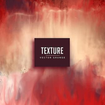 Fundo vermelho da textura da aguarela no estilo do grunge