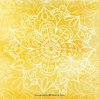 fundo yoga Amarelo