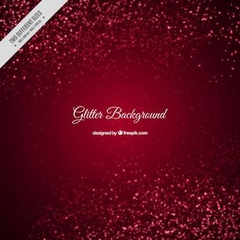 Glitter fundo vermelho