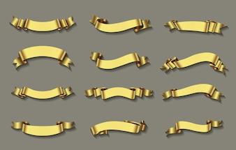 Golden ribbons coleção