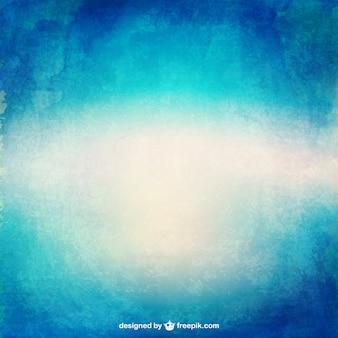 Gradiente de textura da aguarela em tons de azul