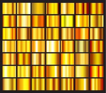Gradientes de ouro collectio