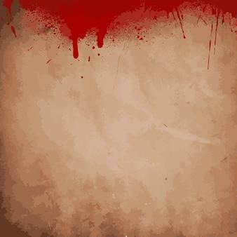 Grunge fundo respingos de sangue