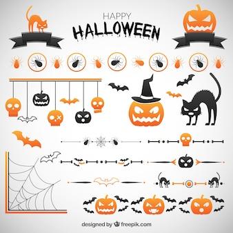 Halloween decoração do partido
