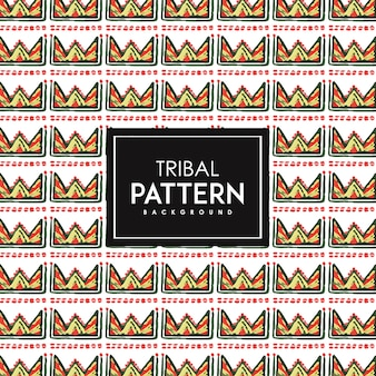 Hand Drawn Watercolor Tribal Patterns Background
