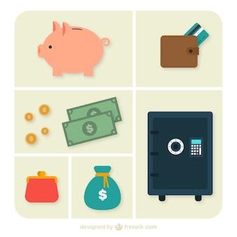 Ícones bancários