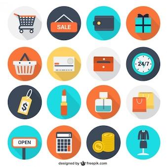 Ícones da compra