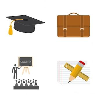 Ícones da faculdade
