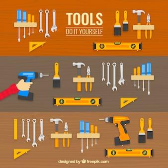 Ícones das ferramentas