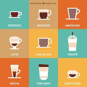 Ícones do café