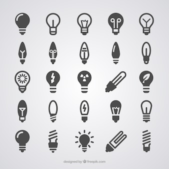 Ícones Light Bulb
