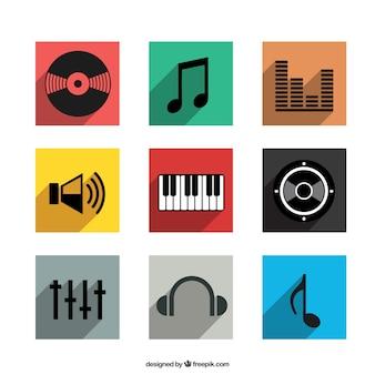 ícones musicais