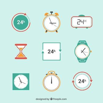 Ícones relógio