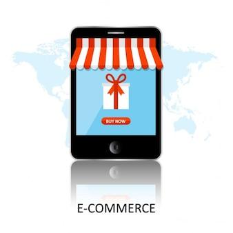 Ilustração ecommerce